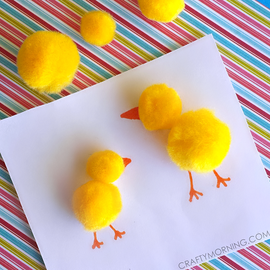 pom-pom-chick-easter-craft-for-kids